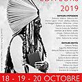 Salon des éditeurs des 18, 19 et 20 octobre 2019