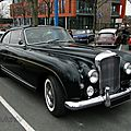 Bentley continental mulliner park ward fastback coupe-1958