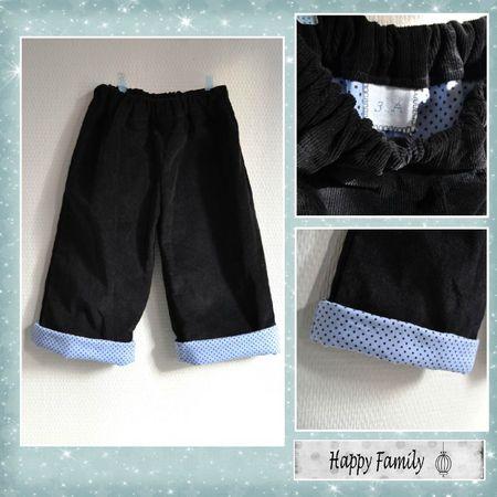 pantalon velours à pois1