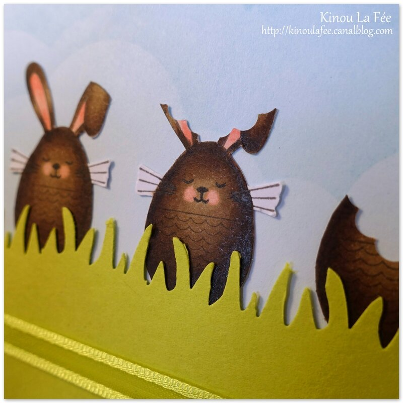 Carte Lapins en Chocolat 3