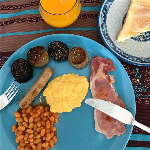 Irish Breakfast homemade ©Kid Friendly