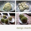 Dango mochi azuki, matcha ...