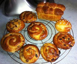 pains aux raisins brioche Nanterre