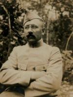 1915 vers René Verney Médecin Aide-Major 1ère classe 43e RAC 3e Groupe (34 ans)