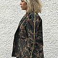 I am artémis en molleton army camouflage