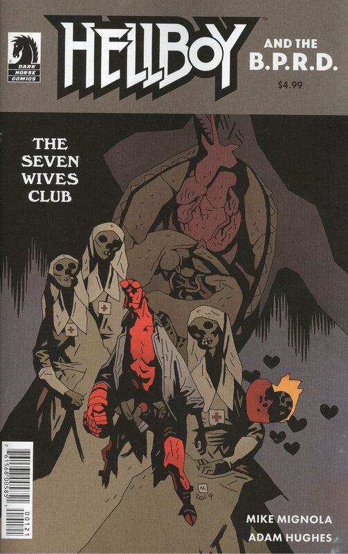 dark horse hellboy and the bprd the seven wives club