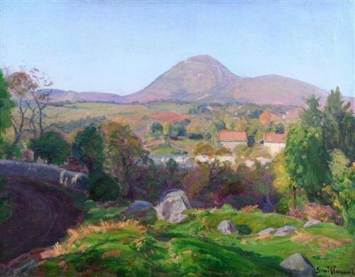 guillaumin armand landscape-of-puy-de-dome