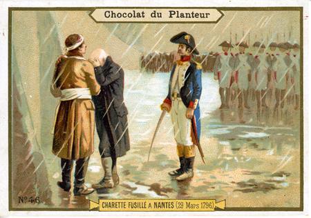 Execution de Charette a Nantes