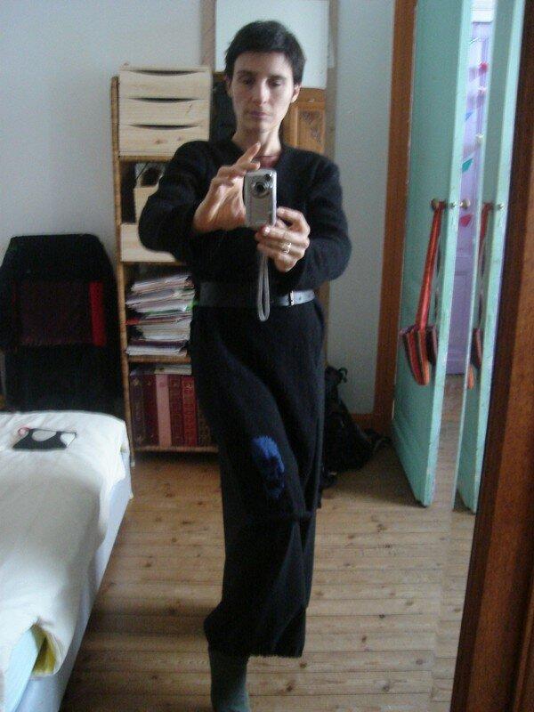 veste noire/skull