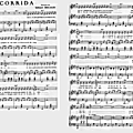La corrida - gilbert bécaud (partition - sheet music)
