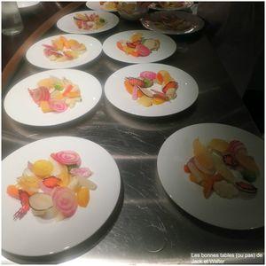 Les légumes du moment, vinaigrette aux aromates et copeaux de mimolette (5)