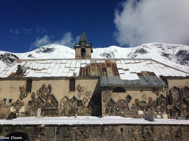 L'église sous le soleil