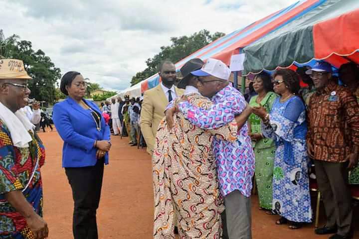 Le Président Laurent Gbagbo prône la paix et la réconciliation malgré la situation d'injustice évidente qui est la sienne