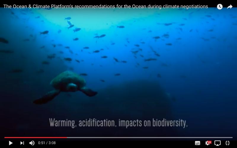 Warning - Acidification, impacts on biodiversity (Ocean & climate platform 2015)