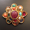 A navaratna pin, jaipur, india, 18th century