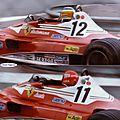 1977-Monaco-312 T2-Lauda_Reutemann-Gazometre