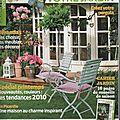 Votre maison, votre jardin n°374 - avril mai 2010 - Couverture - Le chat FLORENCE en zinc (2)