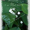 Bonne fête du 1er mai