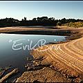 La loire et ses bancs de sable au coucher du soleil ! photos.