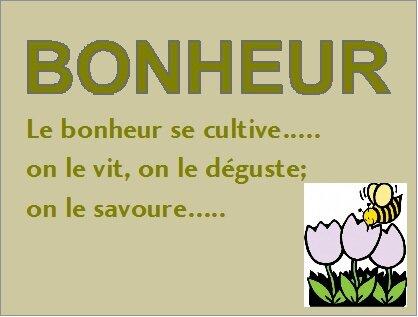 culture bonheur