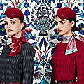 Les nouveaux uniformes de turkish airlines