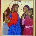 Jésus rencontre les filles de jérusalem