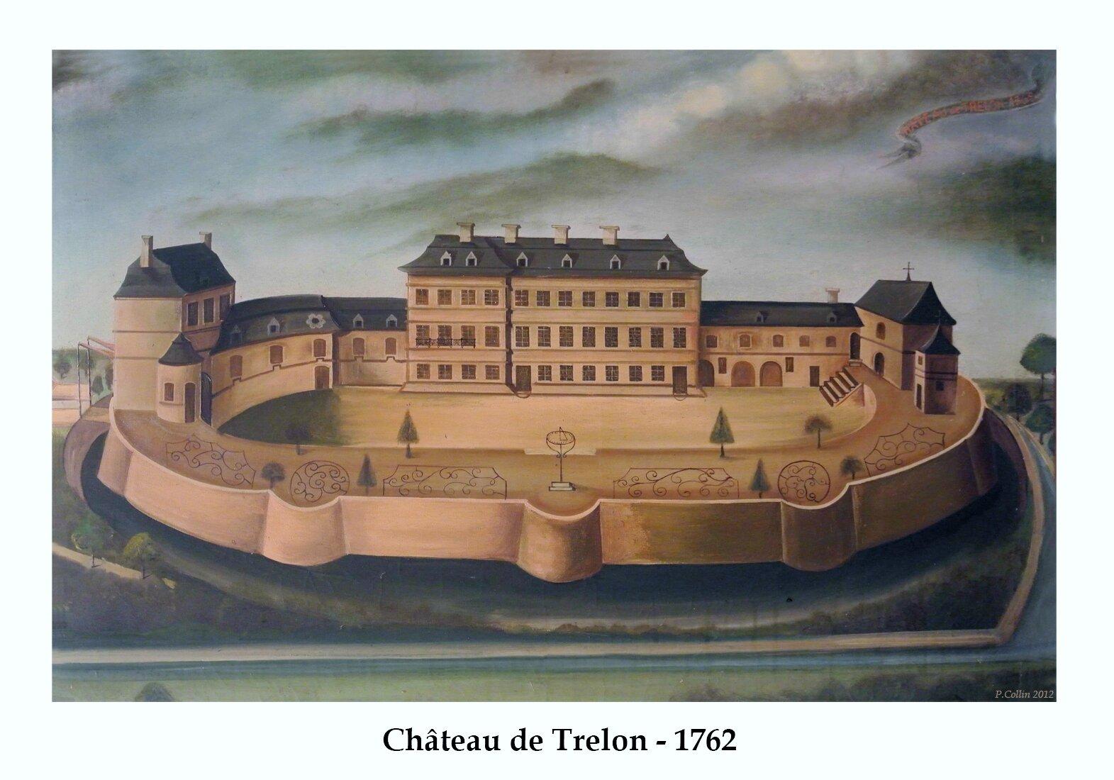 TRELON-Cha^teau 1762