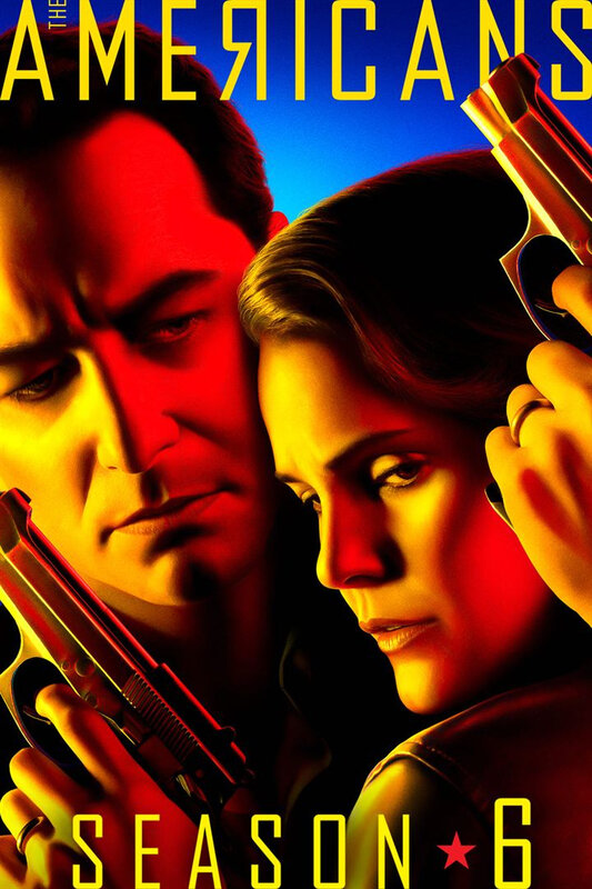 The Americans S6 Affiche