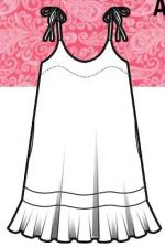 Wil Lily and Lace - A-Line Dress