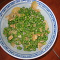 Curry de petits pois express