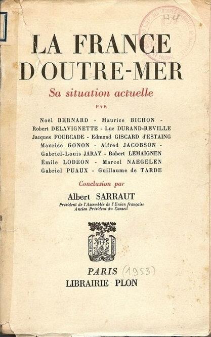 1953 France outre mer