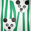 Panda - collage facile