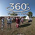 Château du plessis bourré, campement du tournoi de l'ordre saint michel (visite virtuelle)