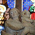 La vierge à l'enfant de saint-brisson-sur-loire