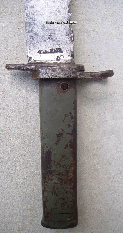 baio ersatz avec remontage de lame de glaive bavarois modèle 1838