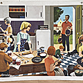Collection ... affiche en famille (1967) * nathan
