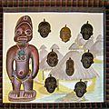 Encadrer des masques africains