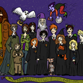 Photo de famille: harry potter