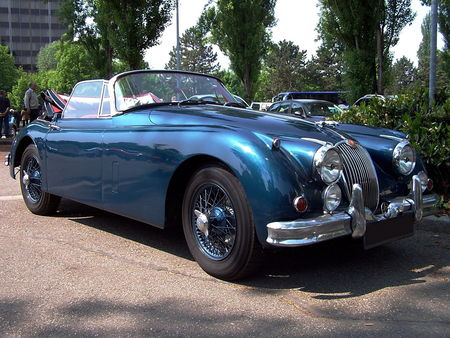 JAGUAR XK150 Convertible Retrorencard 1