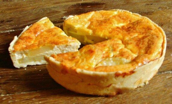 tarte au pomme de terre et ricotta