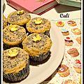 Cupcakes aux graines de pavot & au citron