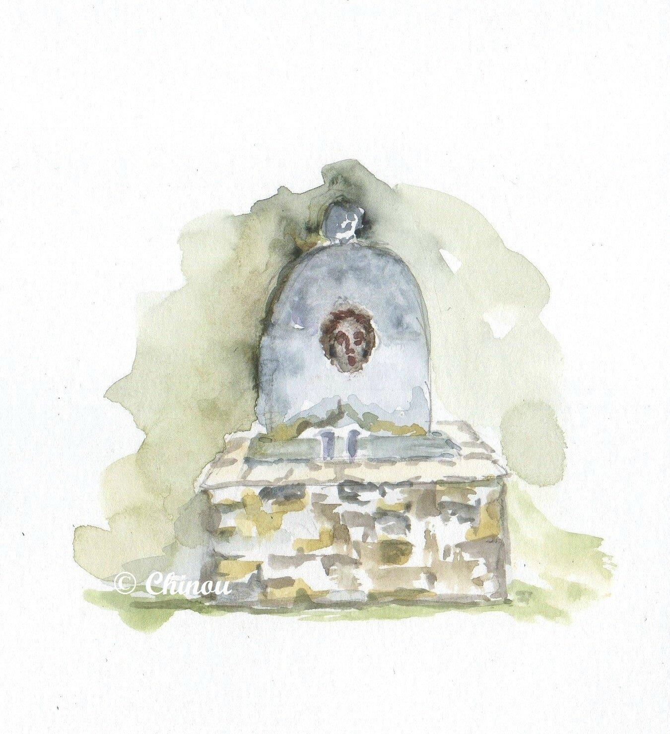 Alleins Fontaine Domaine de la Reynaude