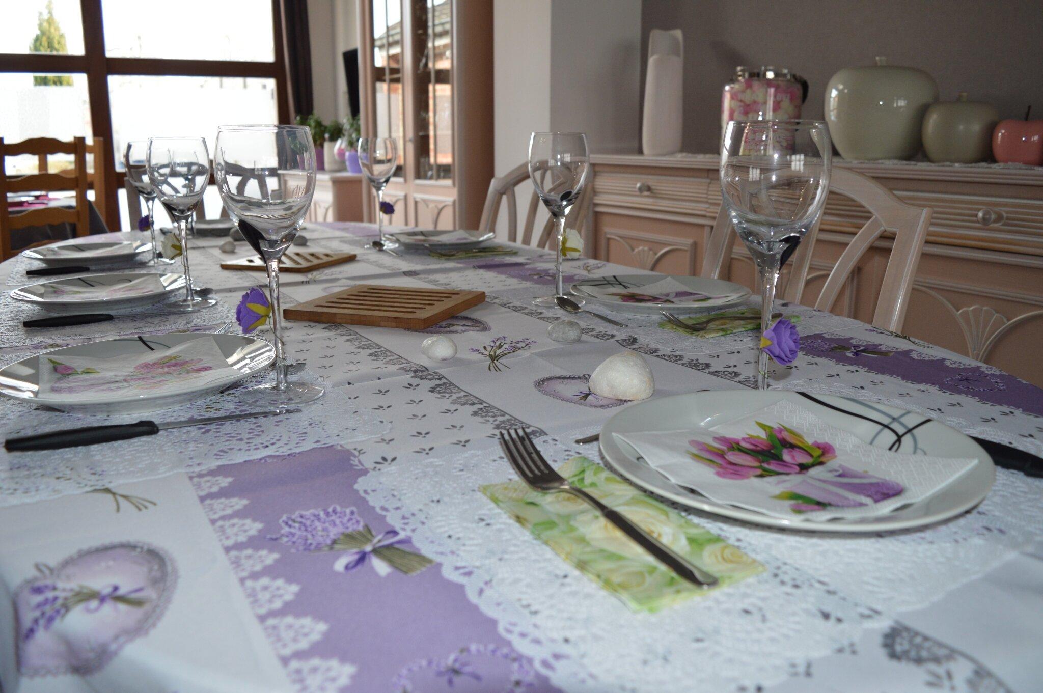 Décoration de table : Style printanier