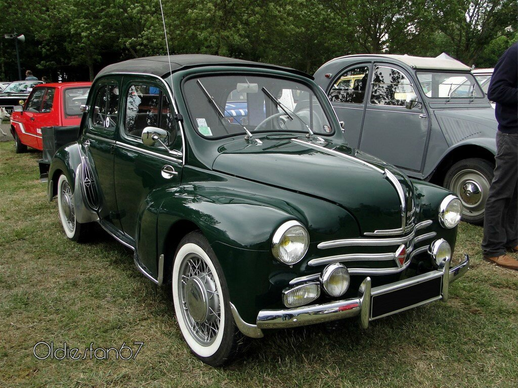 renault 4 cv grand luxe d u00e9couvrable