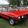Ford fiesta xr2-1982