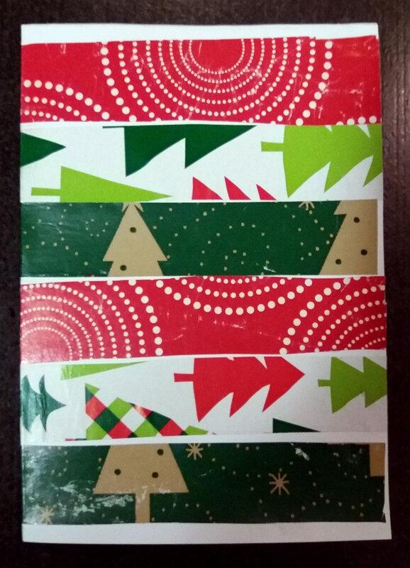 347-Noël et nouvel an-Cartes papiers cadeaux (62)