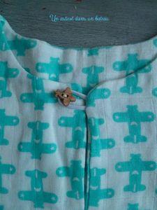 pyjama détail