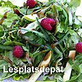 Salade simplissime pour accompagner les grillades