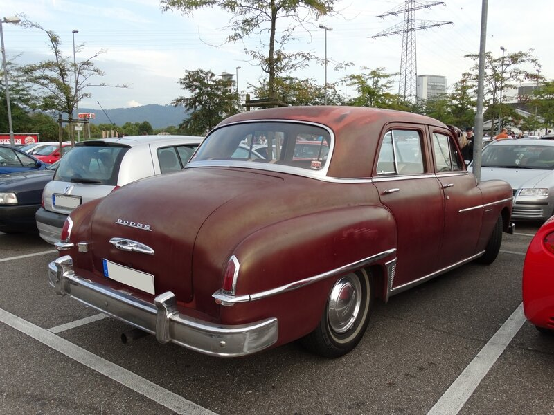DODGE Coronet 4door Sedan 1950 Offenbourg (2)