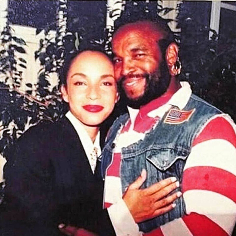 Sade and mister T